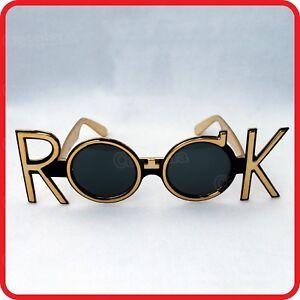 Rock N Roll Rocker Pop Star Glasses Sunglasses Costume Party Dress Up Cosplay Ebay