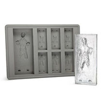 Star Wars Kitchen Fridge Drink Freezing Silicon Ice Cube Tray Mould (Han Solo)