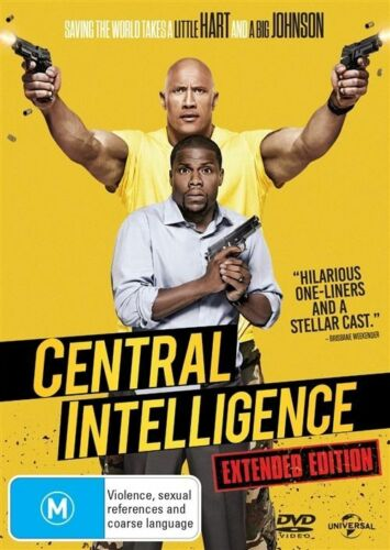 1 of 1 - Central Intelligence (DVD, 2016) The Rock - Brand new, Genuine & Sealed r4 (D55)
