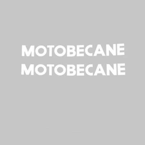 Motobecane Bicycle Frame Stickers Decals Transfers n.9515