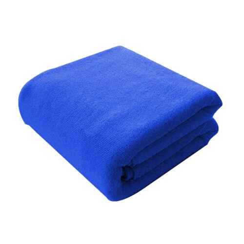 Serviette Bain Séchage Rapide Microfibre Absorbante Forte Nager Tapis Confort NF