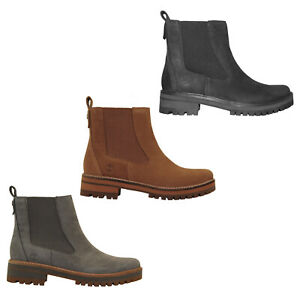 3a254766a12c36 Image is loading Timberland-Courmayeur-Valley-Chelsea-Boots -High-Heels-Ladies-