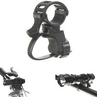 360° Bike Bicycle Cycle Flashlight Torch Mount LED Head Front Lamps Holder Clip