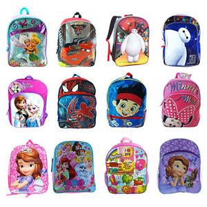 Disney Nickelodeon Shopkins 14 16 Bag For Kids Backpacks