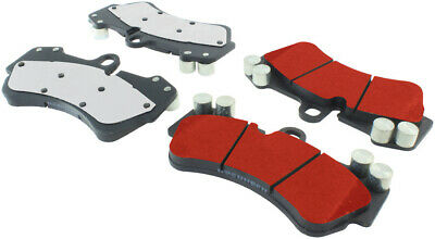 Disc Brake Pad Set-PQ PRO Brake Pads with Shims and Hardware Front,Rear Centric