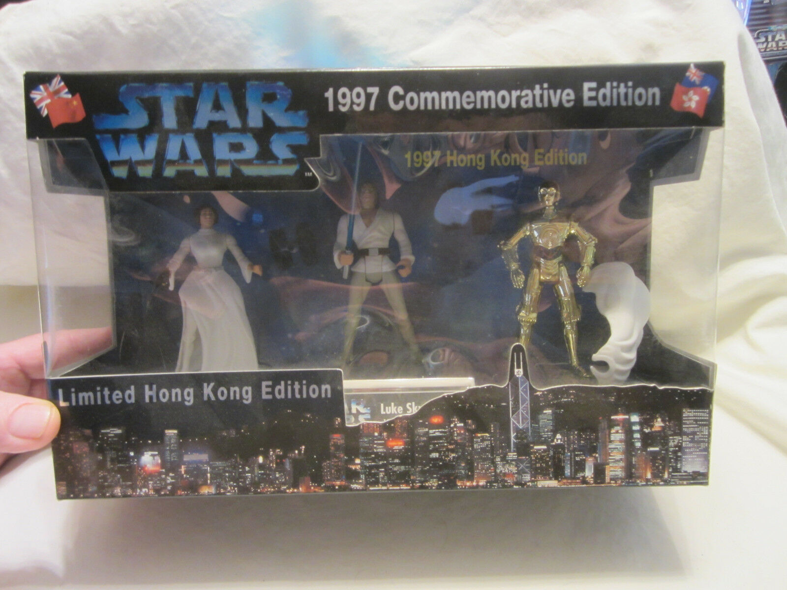 Star Kenner Wars Kenner Star 1997 Commemorative Limited Hong Kong Edition e331ae