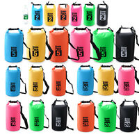 Ocean Pack Waterproof Storage Dry Bag Pouch For Boating Kayaking Hiking Surfing