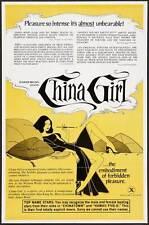 CHINA GIRL Movie POSTER 27x40 C