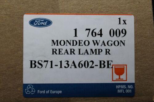 Original Rückleuchte rechts innen Ford Mondeo Kombi Bj 9//2010-12//2014 1764009