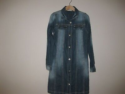 Abito In Denim Per Bambina Next 7yrs-