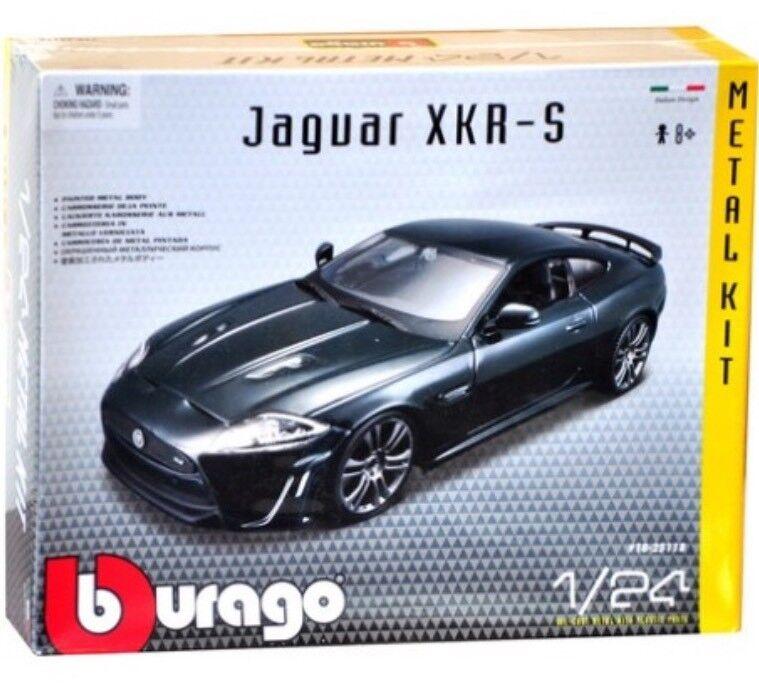 G LGB 1 24 Scale Kit Jaguar XKR-S 1 24 Green Burago Bburago Detailed Model 21063