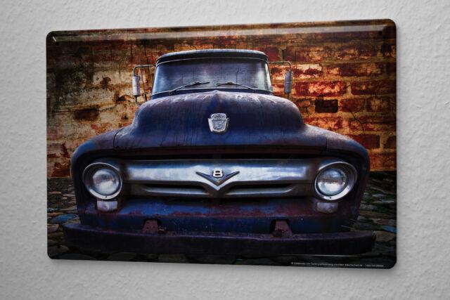 Tin Sign Garage Vintage car Gas Stations Vintage