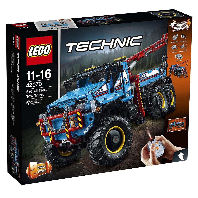 LEGO TECHNIC CAMION AUTOGRU 6x6 42070 -nuovo-italia