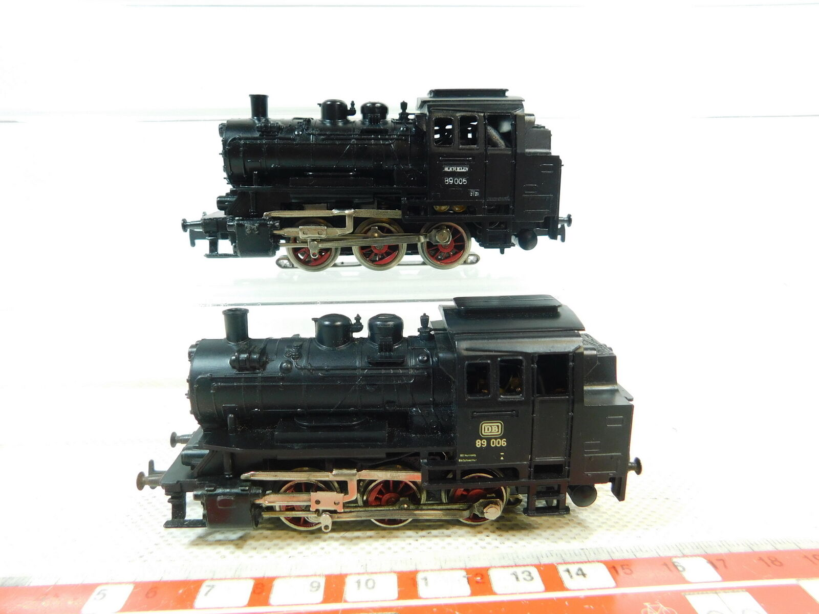 Bt210-1  2x   h0/ac 3000 locomotiva/Tenderlok DB: 89 005 + 89 006