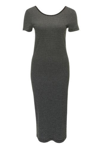Only Damen Kleid Jerseykleid Stretchkleid Strandkleid Shirtkleid Sommerkleid