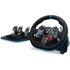 Logitech-G29-Driving-Force-Racing-Lenkrad-Pedale-Fuer-PS3-PS4-PC-Leder-USB