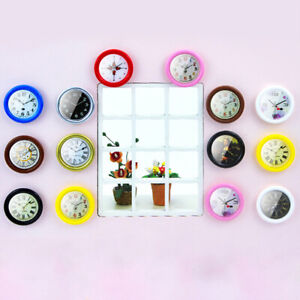 1-12-Resin-Dollhouse-Miniature-Wall-Clock-Home-Decor-Accessories-Furniture-To-ME