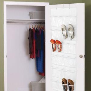Over-The-Door-Shoe-Organizer-Rack-Hanging-Storage-Holder-Hanger-Space-Saver
