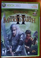 Xbox 360 The Lord Of The Rings: The Battle For Middle-earth Ii,