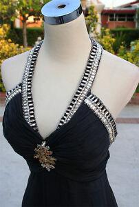 2 Gown BlackLemon Prom Party ontwerpt430 Riva Nwt jRAq34L5