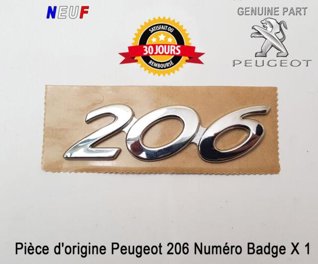 Original Neuf 2 x PEUGEOT 107 Insignia Embleme Logo Auto-Adhesif