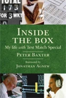 1 of 1 - Inside the Box: My Life with Test Match Special, Jonathan Agnew, Peter Baxter, 1