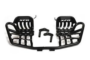 XFR Pro Peg II Foot Peg Nerf bars W Heel Guards Suzuki LTR450 LT-R450 PSE302