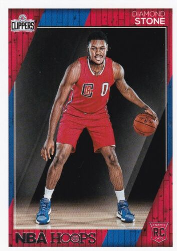 #294 2016-17 Panini Hoops Basketball Cox Diamond Stone, Rookie