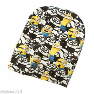Official Licensed Despicable Me Minions Winter Hat and Gloves Set