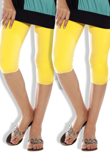 NEW LUX LYRA CAPRI SOFT COTTON LEGGING REGULAR FITTING /& COMFORTABLE IN ANY TYPE