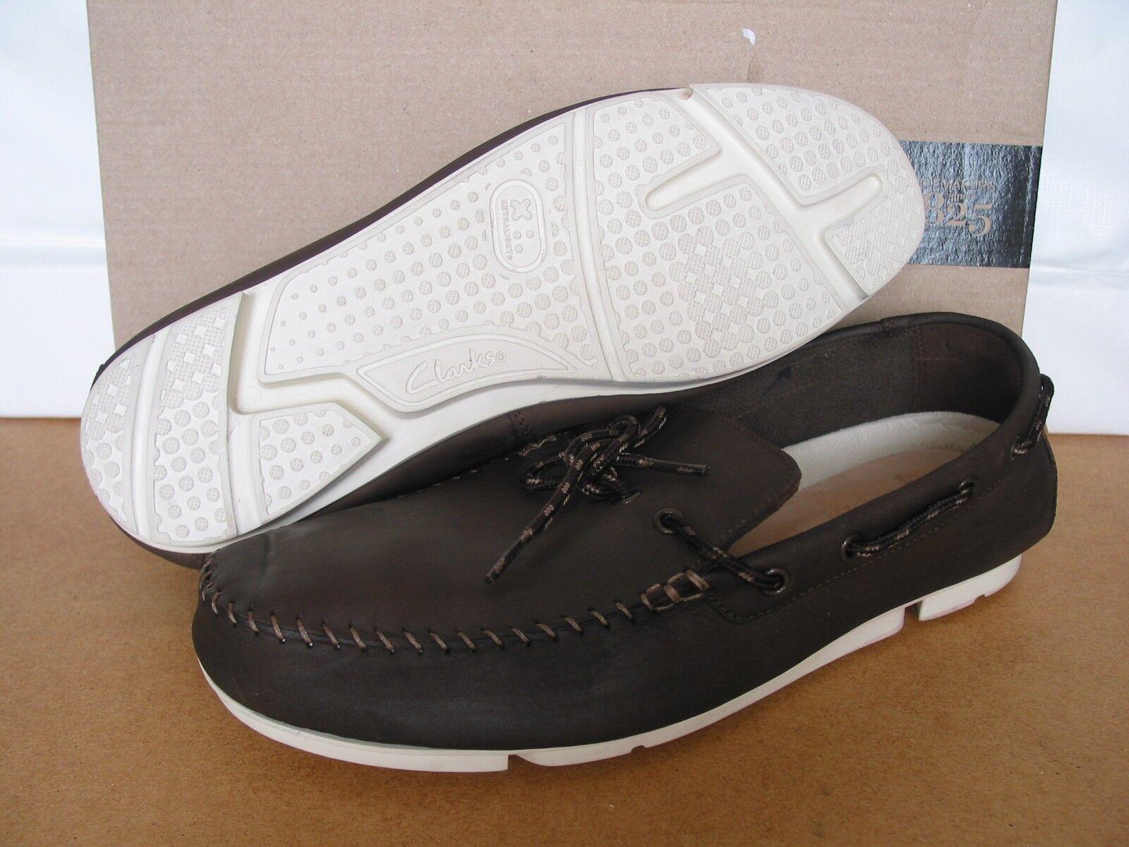 """85152f174 Nuevo Clarks trigenic Flex trimocc borde de cuero suave suave suave zapatos  talla 9 y 7.5. """""""