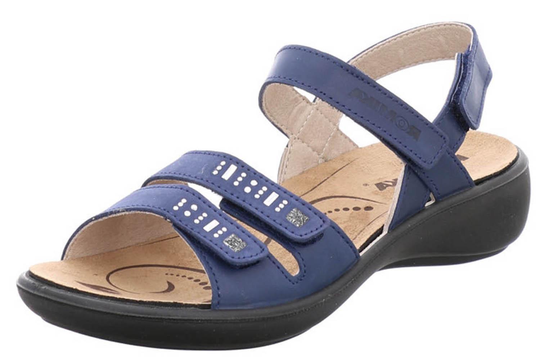 Romika Sandalen in Übergrößen Übergrößen Übergrößen große Damenschuhe Blau XXL d9a692