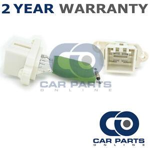 Per-Ford-Fiesta-MK7-1-6-TDCi-95-DIESEL-2012-2015-Riscaldatore-Ventilatore-Ventilatore-Resistore