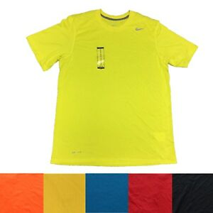 ae2649907b12a Nike Men's Dri Fit Legend Polyester Training Athletic Active Tee T ...