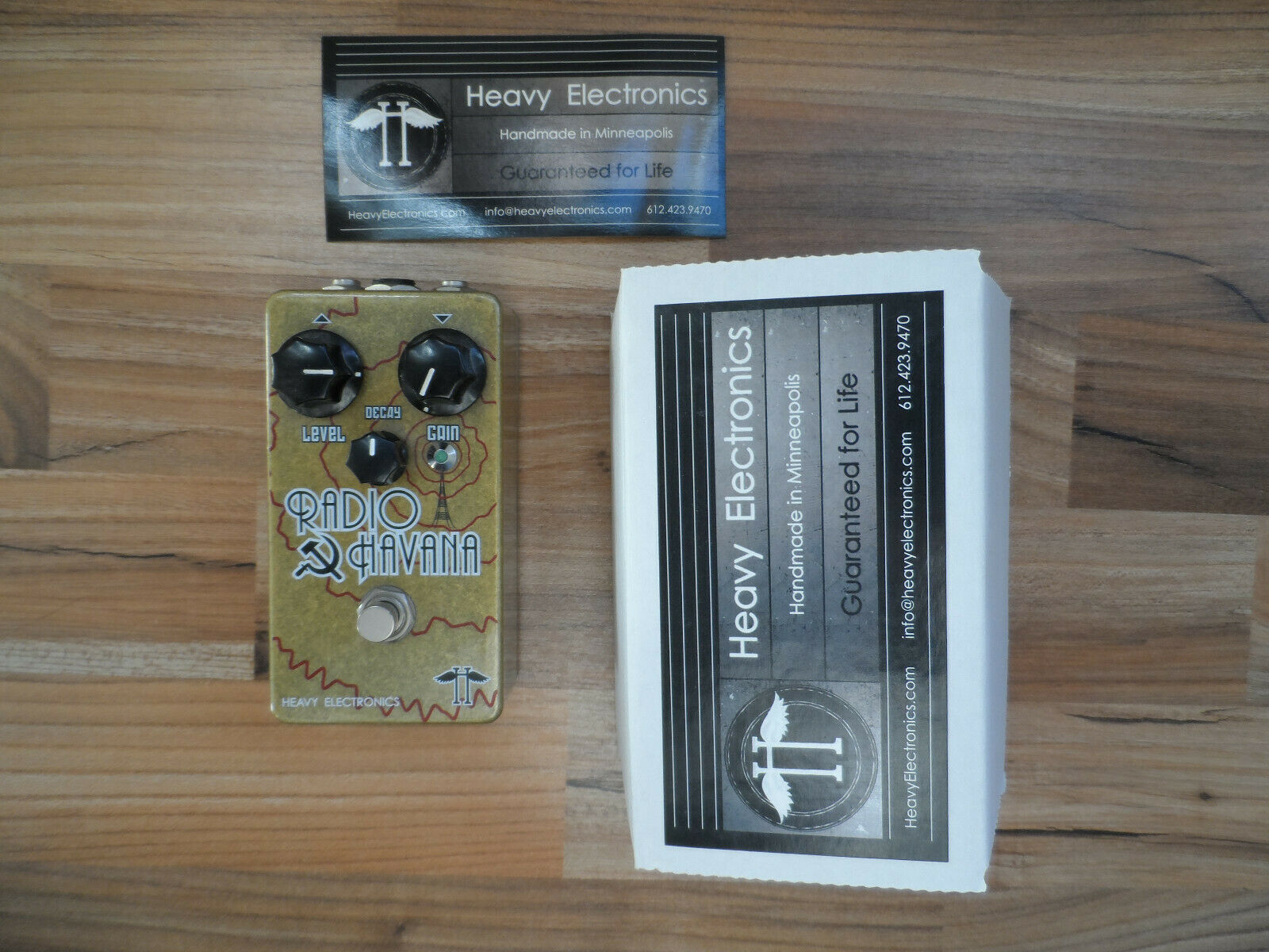 Heavy Heavy Heavy Electronics - Radio Havanna - neuwertig 030552