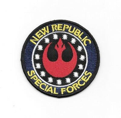 """Special Forces Star Wars Iron On Embroidered Patch Badge 3/""""x3/"""""""