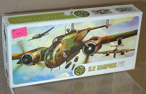 Airfix 491 Serie 4 Seconda Guerra Mondiale Raf Handley Pagine hp Hampton Bomber
