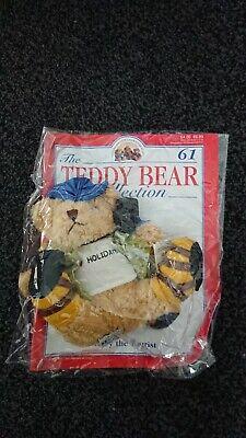Il Teddy Bear Collection-issue 61 Terry Il Turista Sigillato-mostra Il Titolo Originale Pacchetti Alla Moda E Attraenti