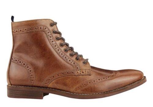 Menswear Burton Boots Leather Brown Mens Uk 7 TndAnpqx