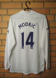 pretty nice 95521 24d9a Details about Tottenham Hotspur Home football shirt #14 Modric 2011 2012  long sl. jersey Puma