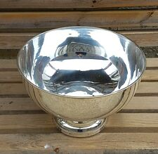 (NEW) Punch Bowl ~ Silver Plated~Ice Bucket~Champagne / Wine Cooler~ Beer