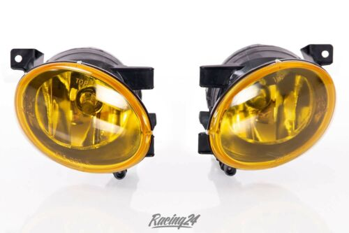 Nebelscheinwerfer Set gelb klar VW Caddy 3 Facelift Nebler NSW E-Prüfzeichen
