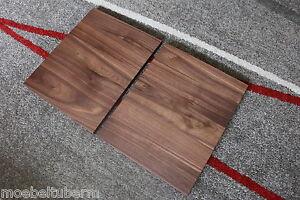 Plaque De Table Plaque Noyer Bois Massif Neuf Table Leimholz Diagonalement Tiroir-afficher Le Titre D'origine
