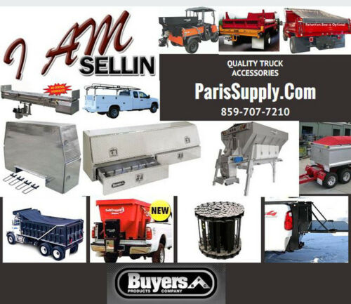 Buyers Salt Dogg Electric Variable Speed Salt Spreader Controller 3016934 NEW