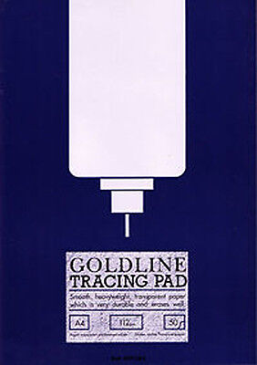 Goldline Heavyweight Tracing Paper Pad 112gsm 50 Sheets A3 GPT3A3
