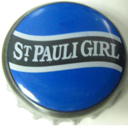 Bottle CAP GERMANY ST PAULI GIRL blue used Beer CROWN