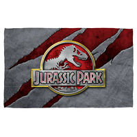 Jurassic Park Slash Logo Beach Towel Available In 2 Sizes