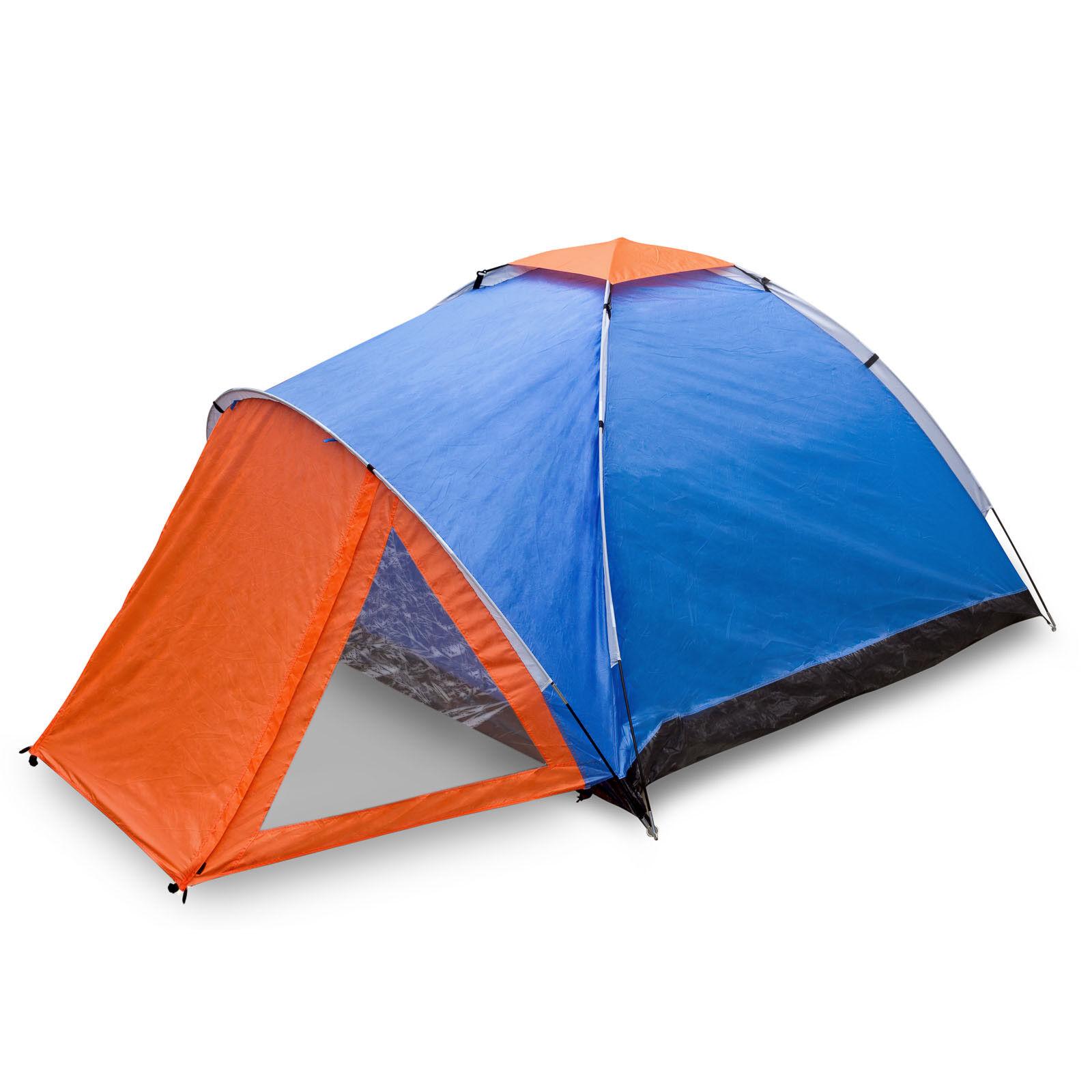 Camping Zelt Zelt Zelt für 3-4 Personen fbfeb0