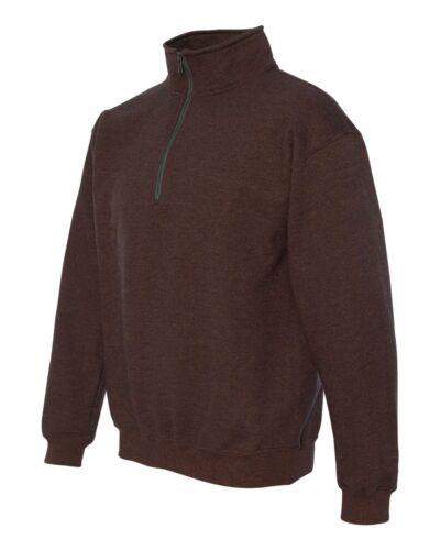 18800 Gildan Heavy Blend Quarter-Zip Cadet Collar Sweatshirt