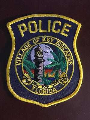 KEY BISCAYNE FLORIDA POLICE PATCH